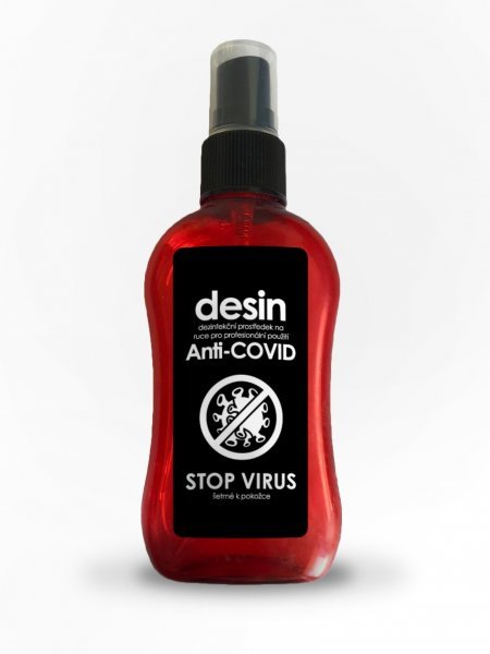 Účinná dezinfekce ve spreji STOP VIRUS - 100ml