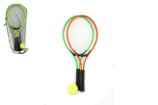 Sada dětský tenis 22x53cm asst 2 barvy v síťce