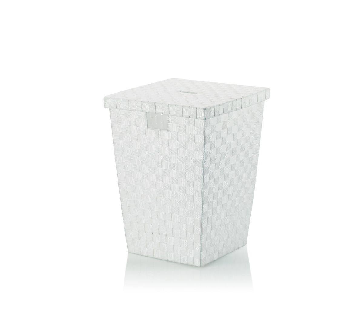 Koš na prádlo Alvaro bílý, 40x40x52cm KL-23071 - Kela + dárek k nákupu