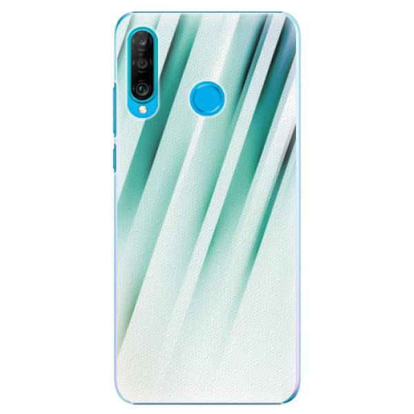 Plastové pouzdro iSaprio - Stripes of Glass - Huawei P30 Lite