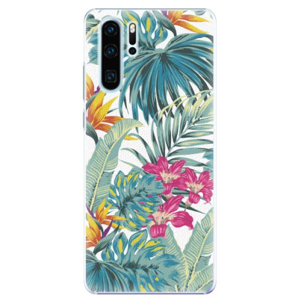 Plastové pouzdro iSaprio - Tropical White 03 - Huawei P30 Pro