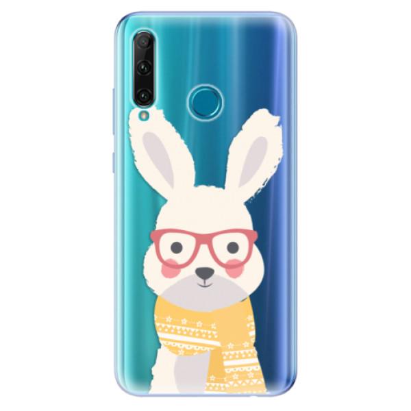 Odolné silikonové pouzdro iSaprio - Smart Rabbit - Honor 20e