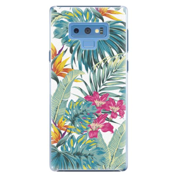 Plastové pouzdro iSaprio - Tropical White 03 - Samsung Galaxy Note 9