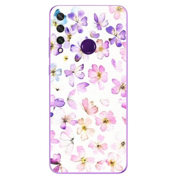 Odolné silikonové pouzdro iSaprio - Wildflowers - Huawei Y6p