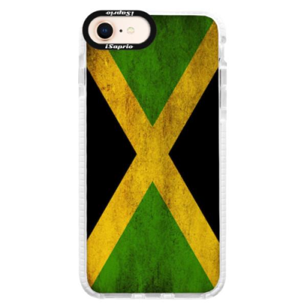 Silikonové pouzdro Bumper iSaprio - Flag of Jamaica - iPhone 8