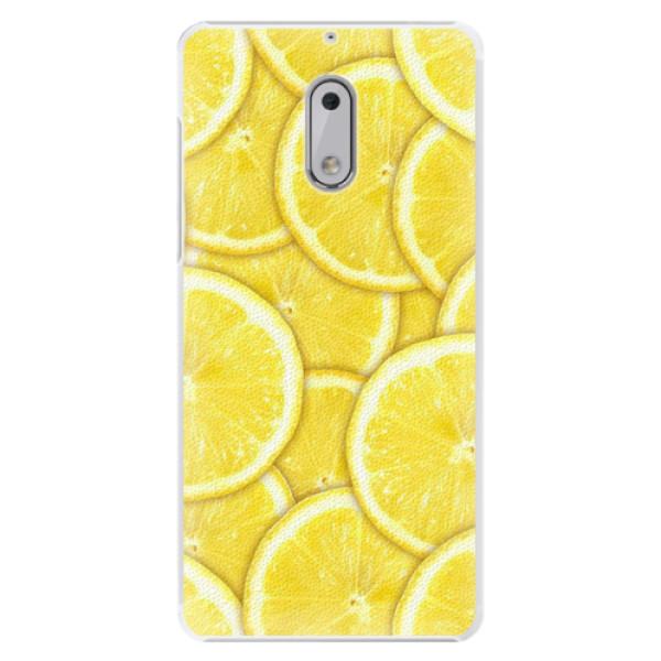 Plastové pouzdro iSaprio - Yellow - Nokia 6