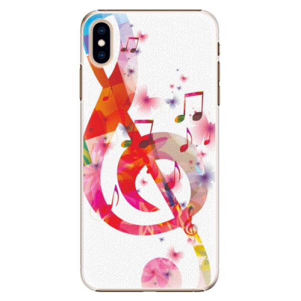 Plastové pouzdro iSaprio - Love Music - iPhone XS Max