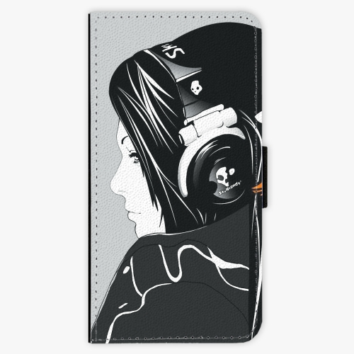 Flipové pouzdro iSaprio - Headphones - Huawei P9 Lite Mini