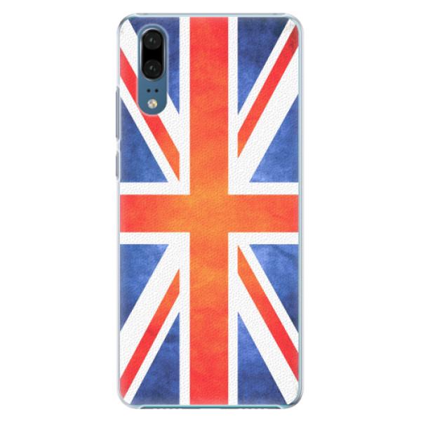 Plastové pouzdro iSaprio - UK Flag - Huawei P20