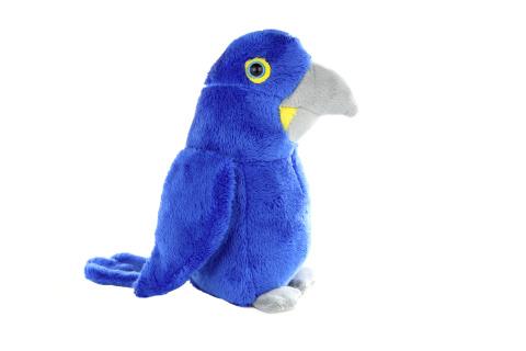 Plyš Papoušek modrý