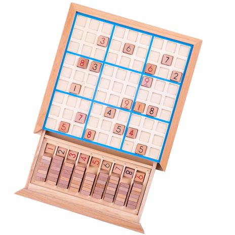 Bigjigs Toys Dřevěné sudoku