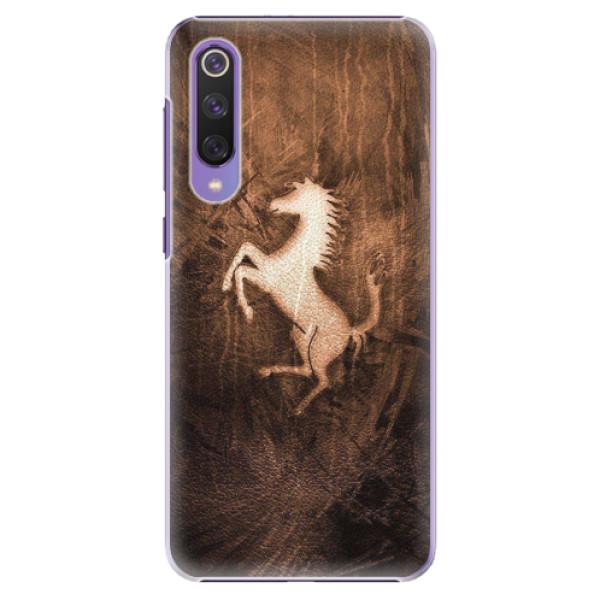 Plastové pouzdro iSaprio - Vintage Horse - Xiaomi Mi 9 SE