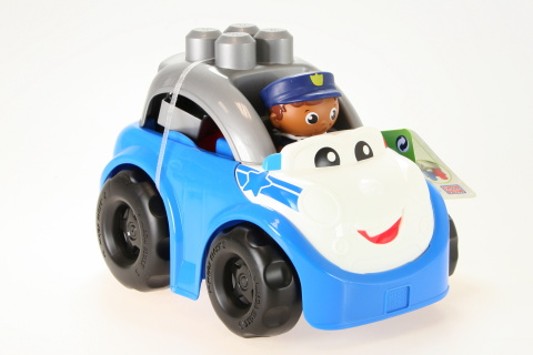 Mega Bloks FP Policejní auto Peter DPJ59