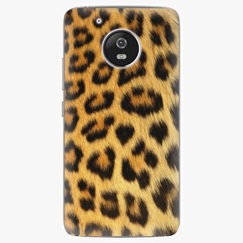 Plastový kryt iSaprio - Jaguar Skin - Lenovo Moto G5