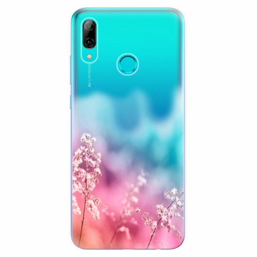 Silikonové pouzdro iSaprio - Rainbow Grass - Huawei P Smart 2019