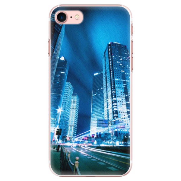 Plastové pouzdro iSaprio - Night City Blue - iPhone 7
