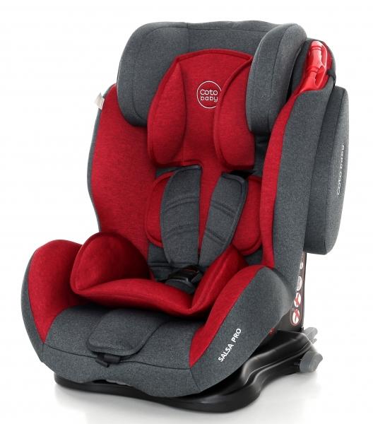 Coto Baby Autosedačka 9-36kg Salsa Isofix - Red/Melagne - 2018