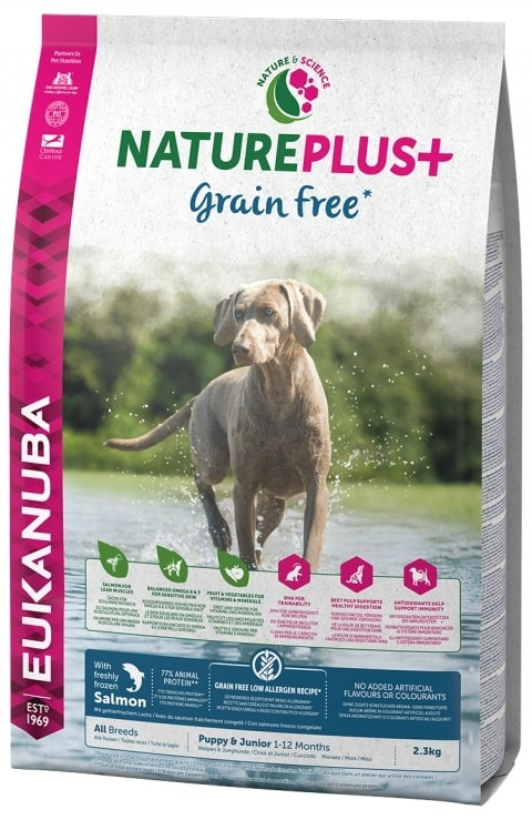EUKANUBA Nature Plus+ Adult Grain Free Salmon 14kg