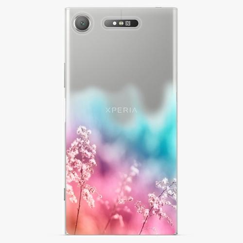 Plastový kryt iSaprio - Rainbow Grass - Sony Xperia XZ1