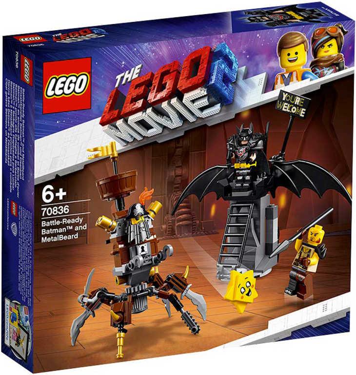 LEGO MOVIE PŘÍBĚH 2: Batman a Kovovous připraveni k boji 70836