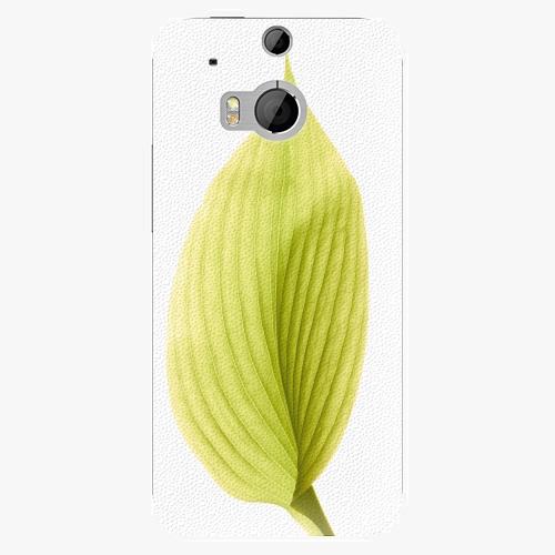 Plastový kryt iSaprio - Green Leaf - HTC One M8