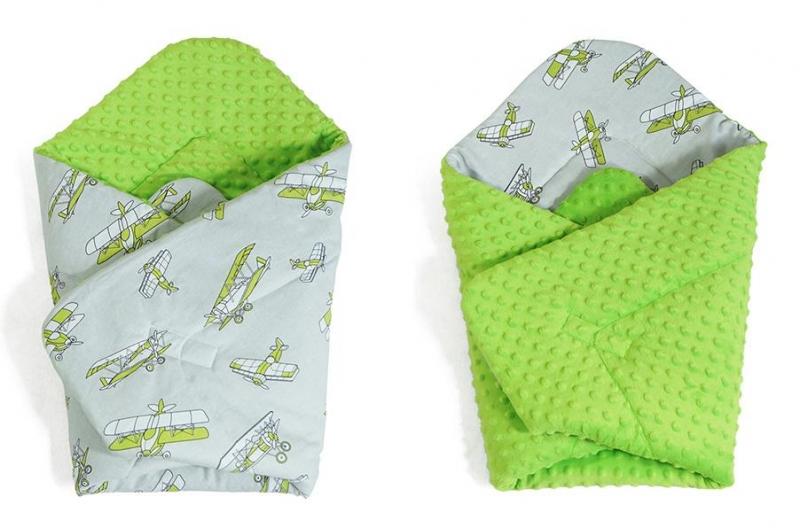 baby-nellys-oboustranna-zavinovacka-minky-letadla-minky-zelena