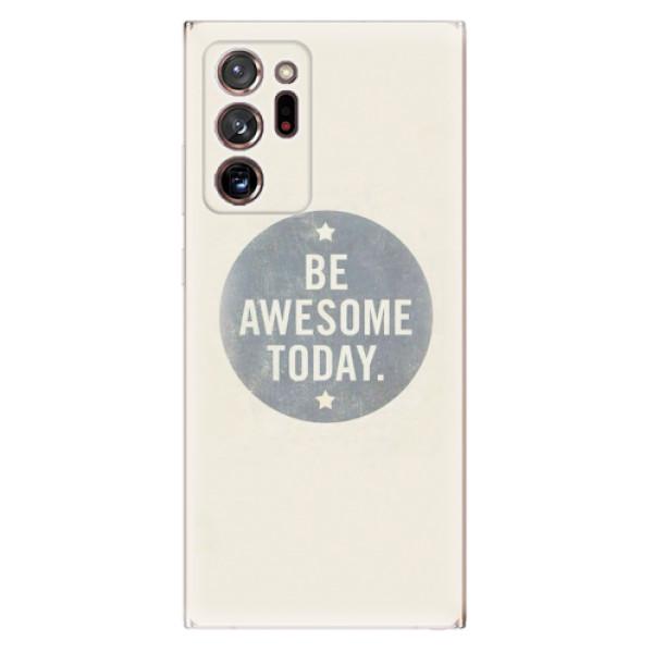 Odolné silikonové pouzdro iSaprio - Awesome 02 - Samsung Galaxy Note 20 Ultra