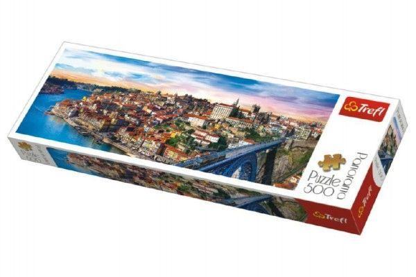 Puzzle Portugalsko panorama - 500 dílků
