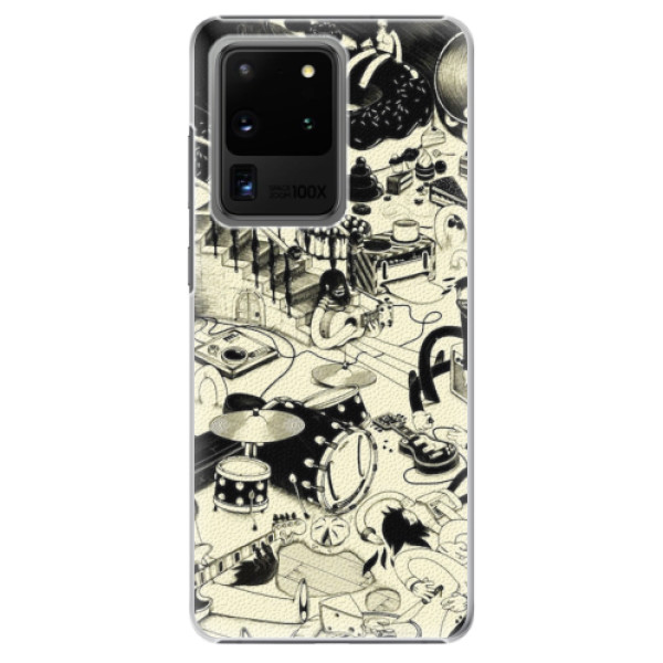 Plastové pouzdro iSaprio - Underground - Samsung Galaxy S20 Ultra