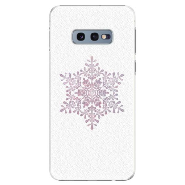 Plastové pouzdro iSaprio - Snow Flake - Samsung Galaxy S10e