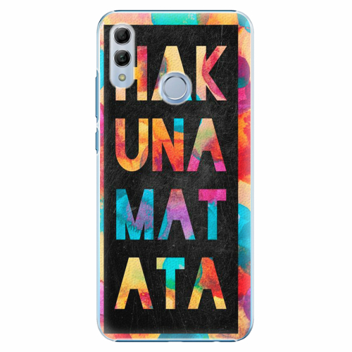 Plastový kryt iSaprio - Hakuna Matata 01 - Huawei Honor 10 Lite
