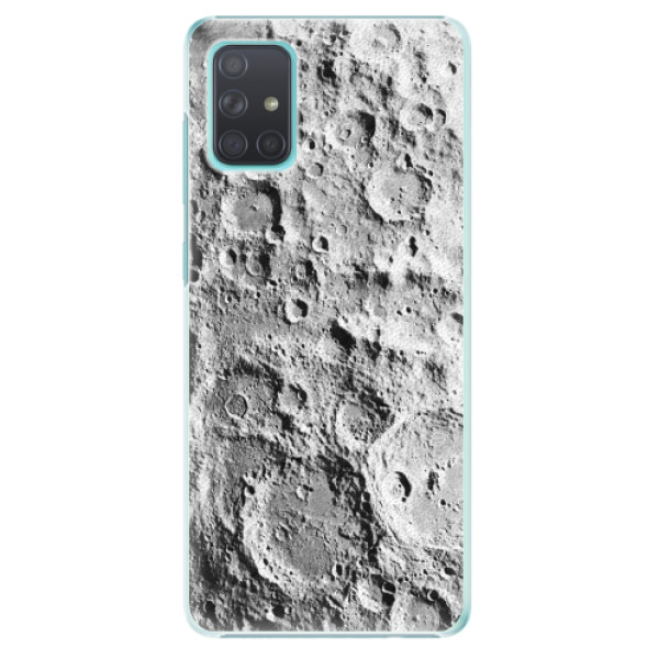 Plastové pouzdro iSaprio - Moon Surface - Samsung Galaxy A71