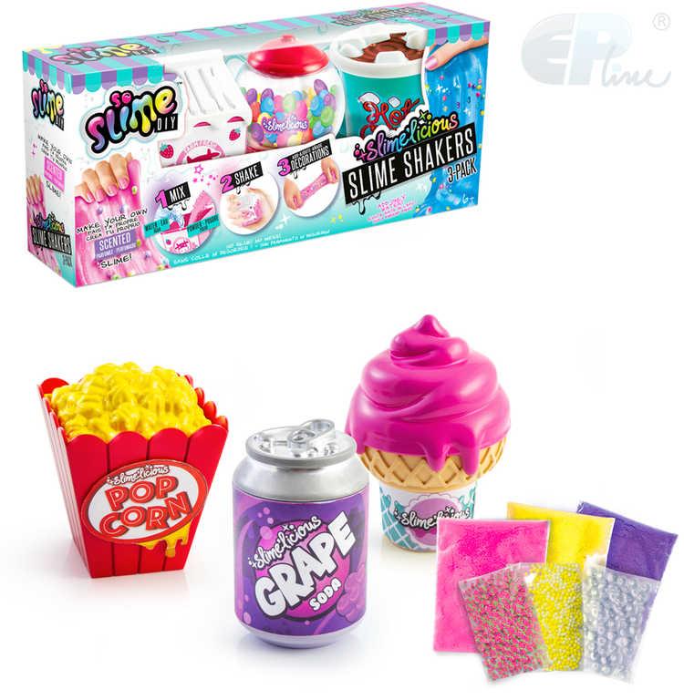 EP Line Sliz So Slime 3 pack kreativní set výroba slizu různé druhy