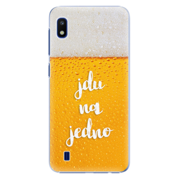 Plastové pouzdro iSaprio - Jdu na jedno - Samsung Galaxy A10