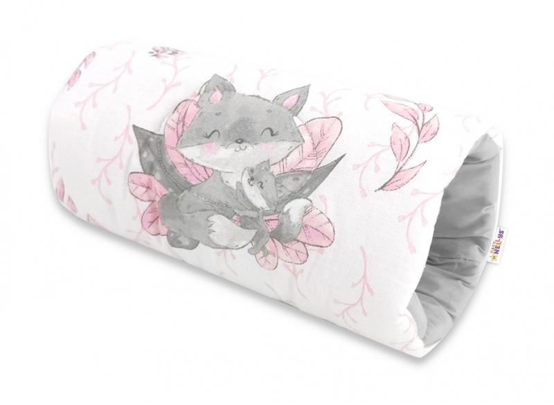 Baby Nellys Kojící polštář na ruku, LULU natural - růžová