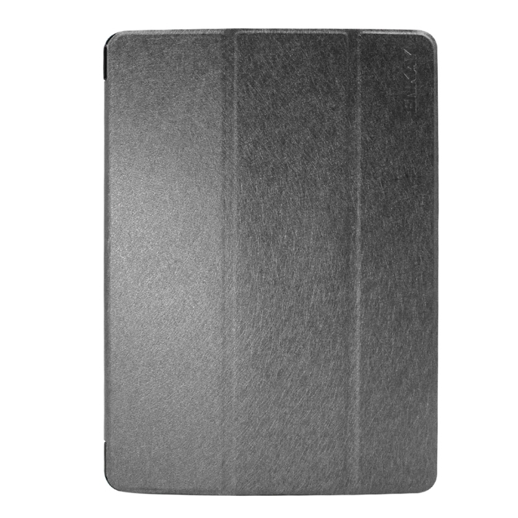 Kožený kryt / pouzdro Smart Cover iSaprio pro iPad 9.7 (2017) černý