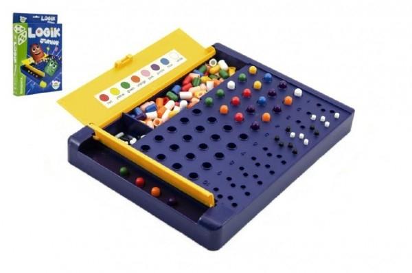 Logik junior společenská hra hlavolam v krabici 19,5x29x3,5cm