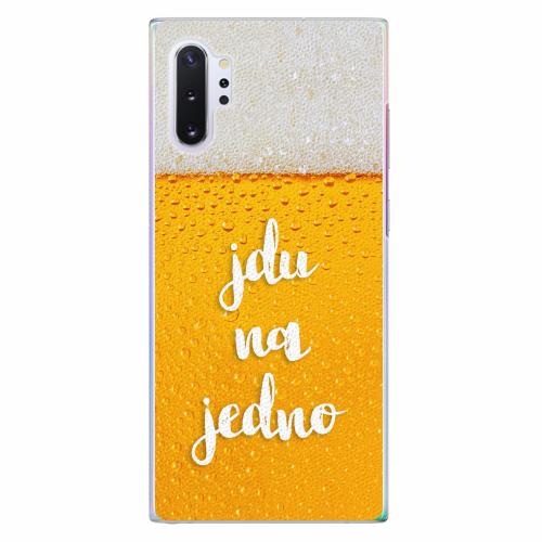 Plastový kryt iSaprio - Jdu na jedno - Samsung Galaxy Note 10+