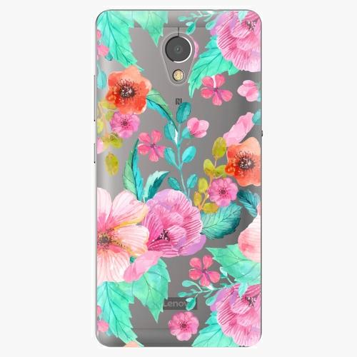 Plastový kryt iSaprio - Flower Pattern 01 - Lenovo P2