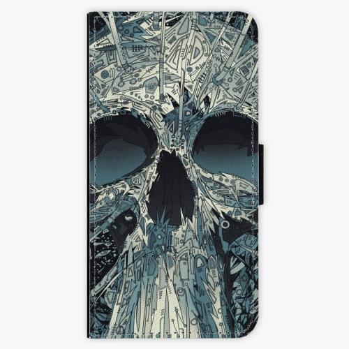 Flipové pouzdro iSaprio - Abstract Skull - Huawei Nova 3i