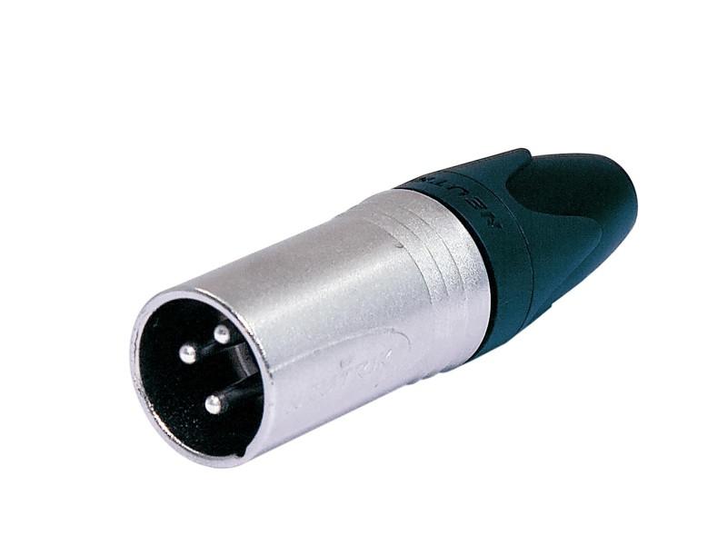 Neutrik XLR NC-3MXX, zástrčka 3-pólová