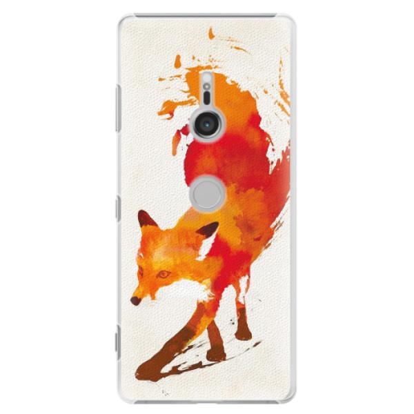 Plastové pouzdro iSaprio - Fast Fox - Sony Xperia XZ3