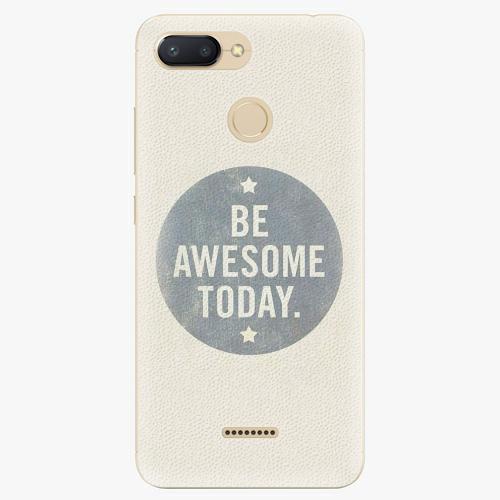Plastový kryt iSaprio - Awesome 02 - Xiaomi Redmi 6
