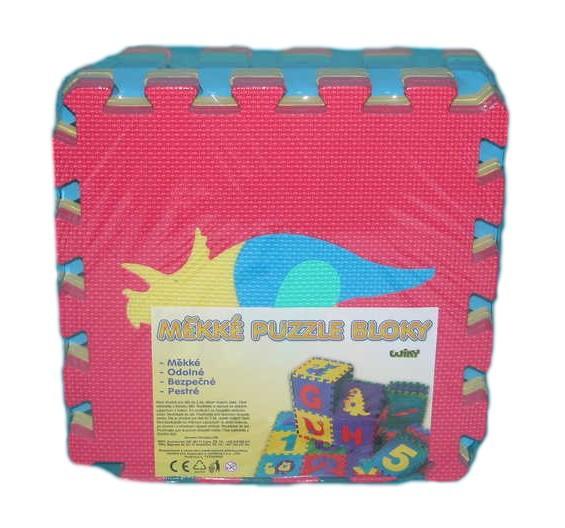 Měkké bloky/puzzle na zem 30 x 30 Dinosauři
