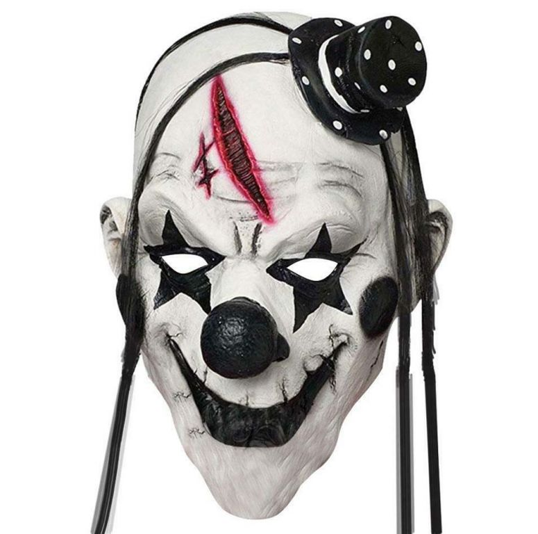 Hororová maska - klaun