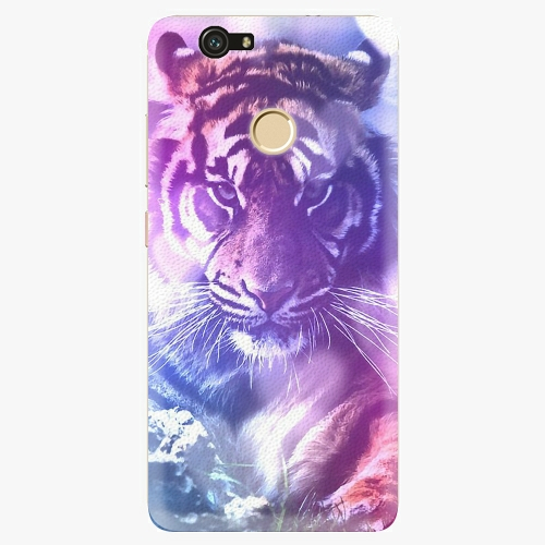 Plastový kryt iSaprio - Purple Tiger - Huawei Nova