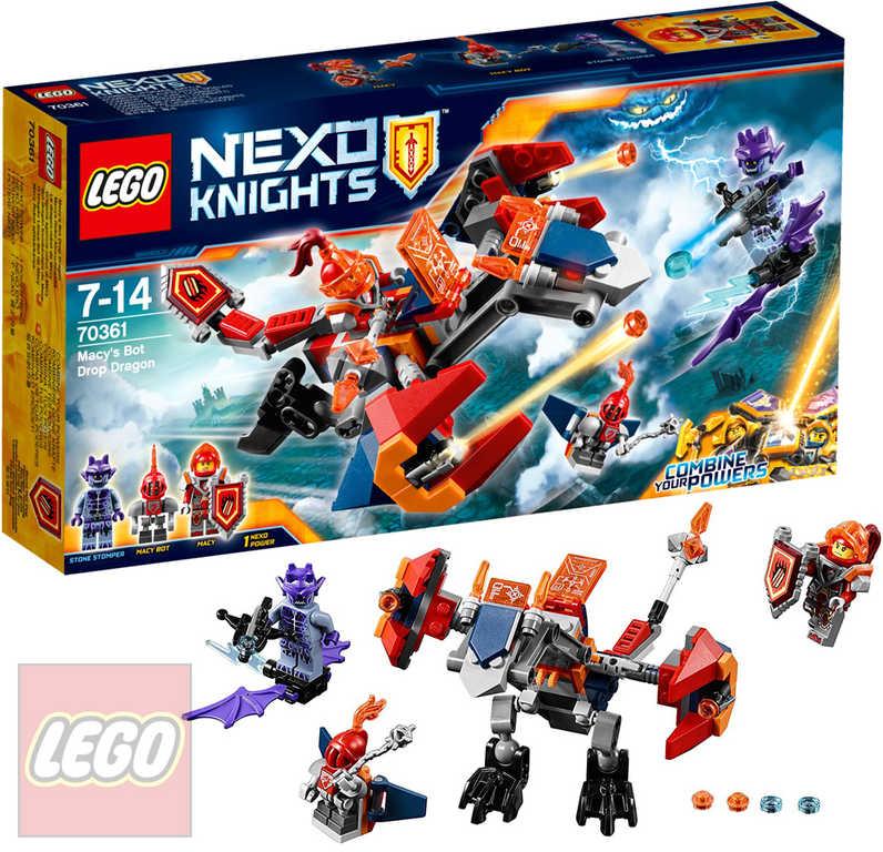 LEGO NEXO KNIGHTS Macyin Robodrak 70361 STAVEBNICE