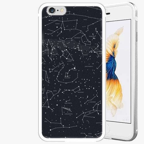 Plastový kryt iSaprio - Night Sky 01 - iPhone 6 Plus/6S Plus - Silver