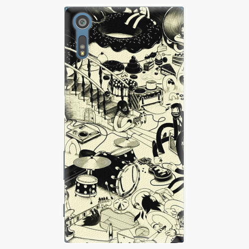 Plastový kryt iSaprio - Underground - Sony Xperia XZ