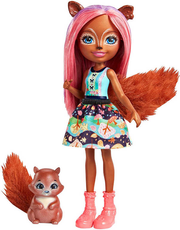 MATTEL Enchantimals set panenka / panák 15cm + zvířátko 4 druhy